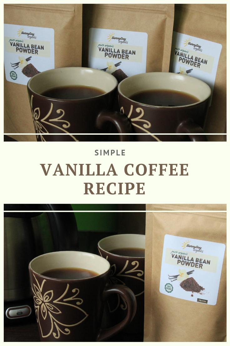 Simple Vanilla Coffee Recipe