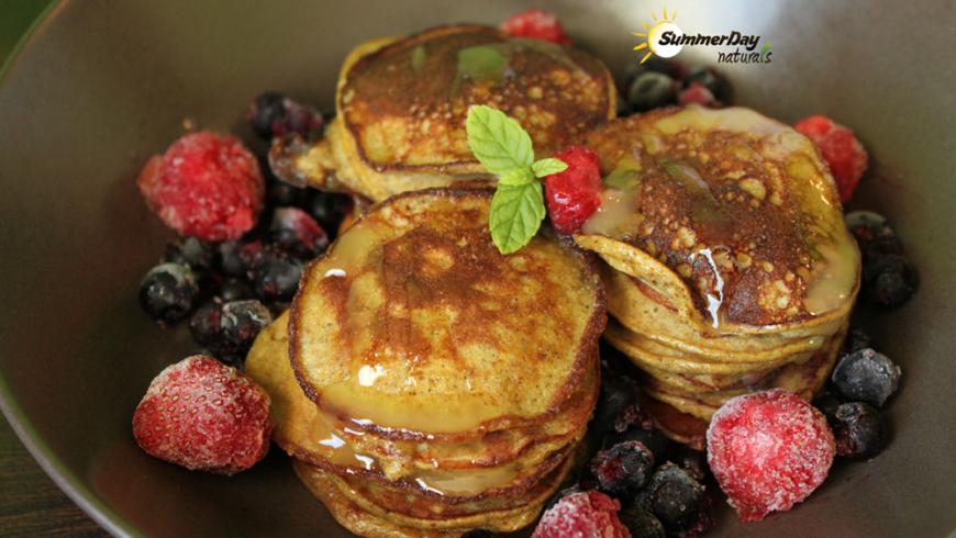 Almond-Banana Pancakes With A Hint Of Vanilla