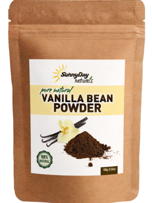 ground vanilla bean