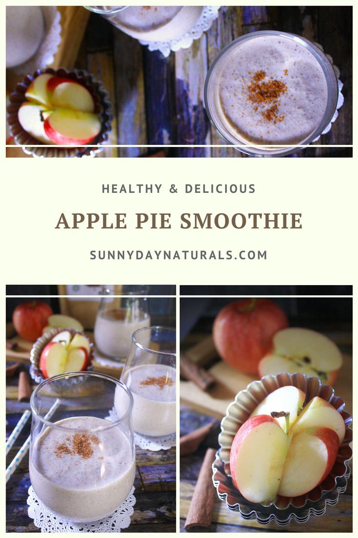 Apple Pie Smoothie Recipe - Sunny Day Naturals