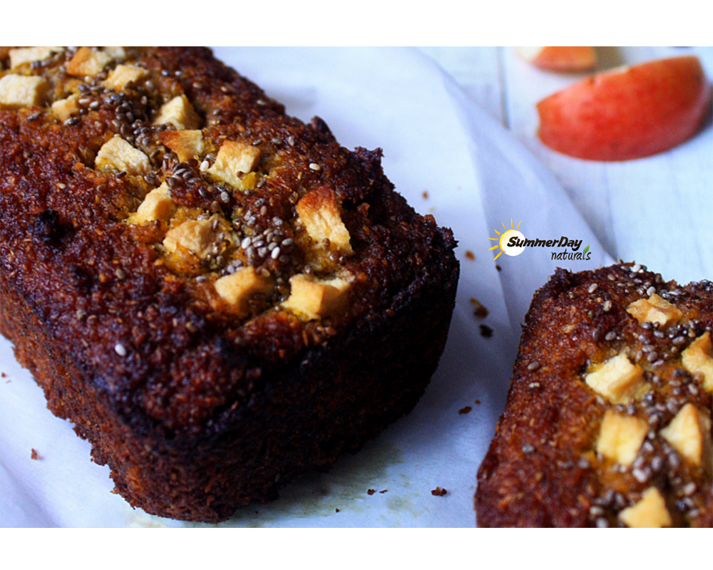 Pumpkin & Apple Gingerbread Loaf