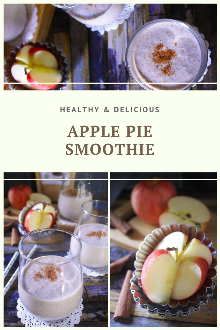 Paleo Apple Pie Smoothie Recipe by Summer Day Naturals