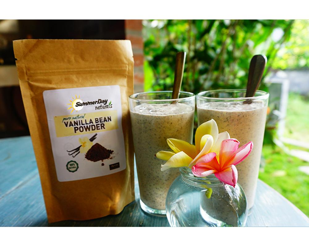 Paleo Chia Seed Vanilla Pudding
