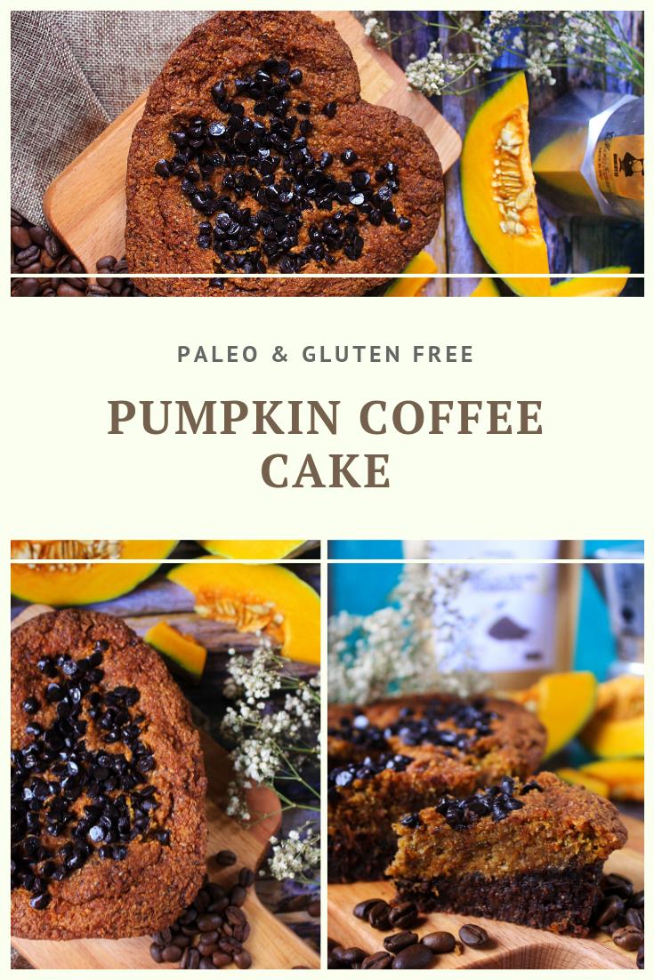 Paleo Pumpkin Coffee Cake Recipe by Summer Day Naturals