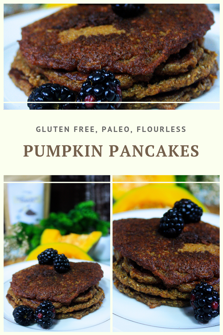 Paleo Pumpkin Pancakes Recipe by Summer Day Naturals