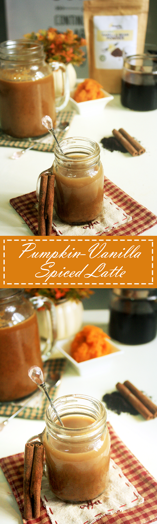 Pumpkin-Vanilla Spiced Latte Recipe - Summer Day Naturals