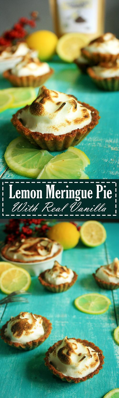 Lemon Meringue Pie Recipe by Summer Day Naturals