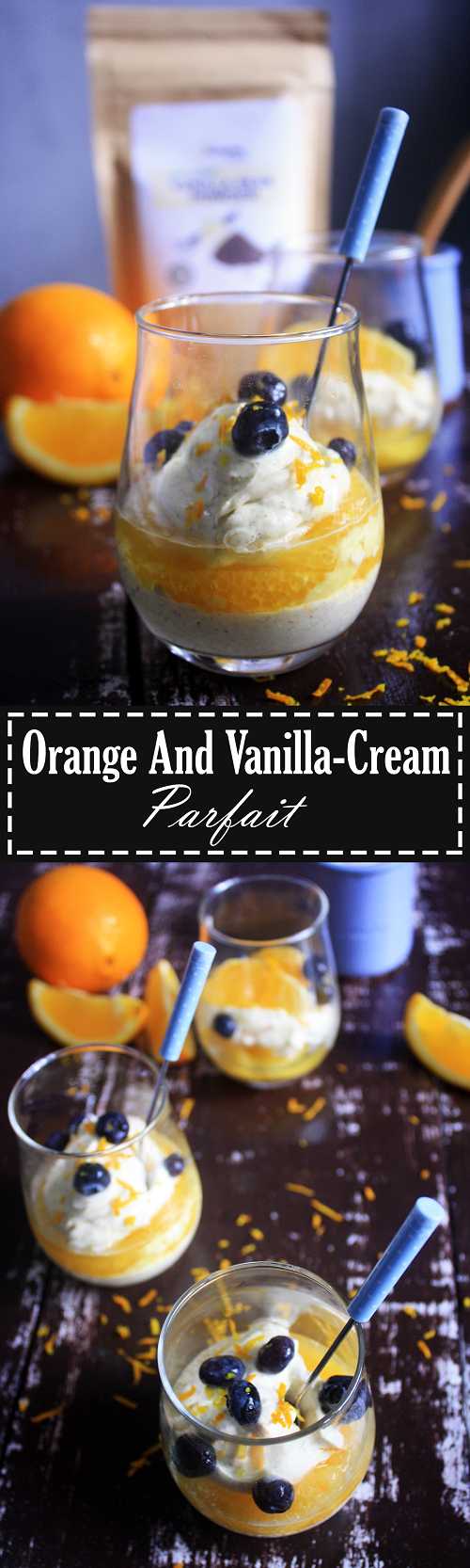 Easy Paleo Orange & Vanilla Cream Parfait Recipe by Summer Day Naturals