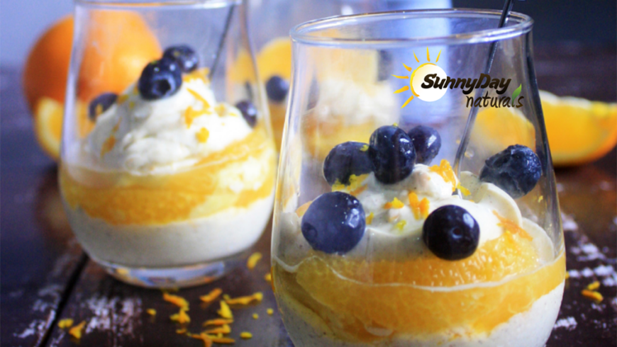 Orange Cream Parfait