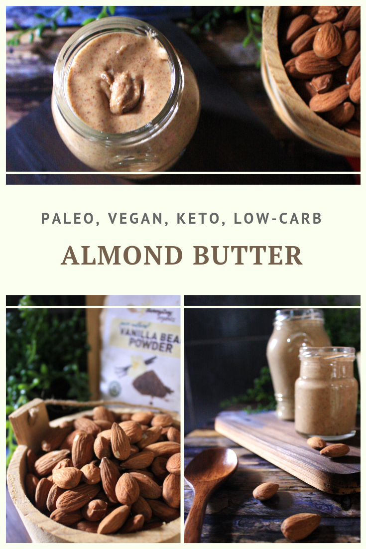 Healthy Almond Butter Recipe by Summer Day Naturals