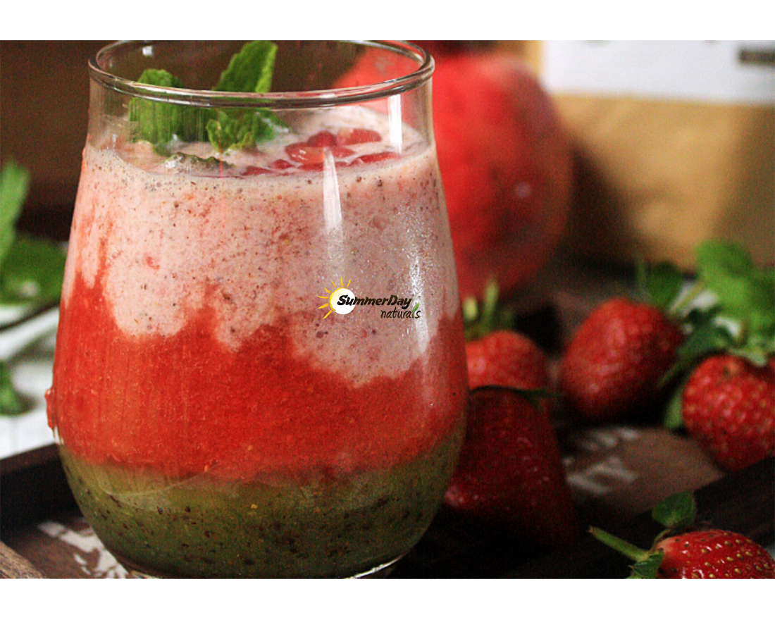 Layered Christmas Smoothie