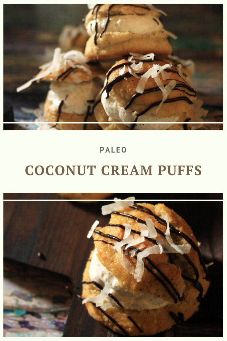Paleo Coconut Cream Puffs Recipe by Summer Day Naturals
