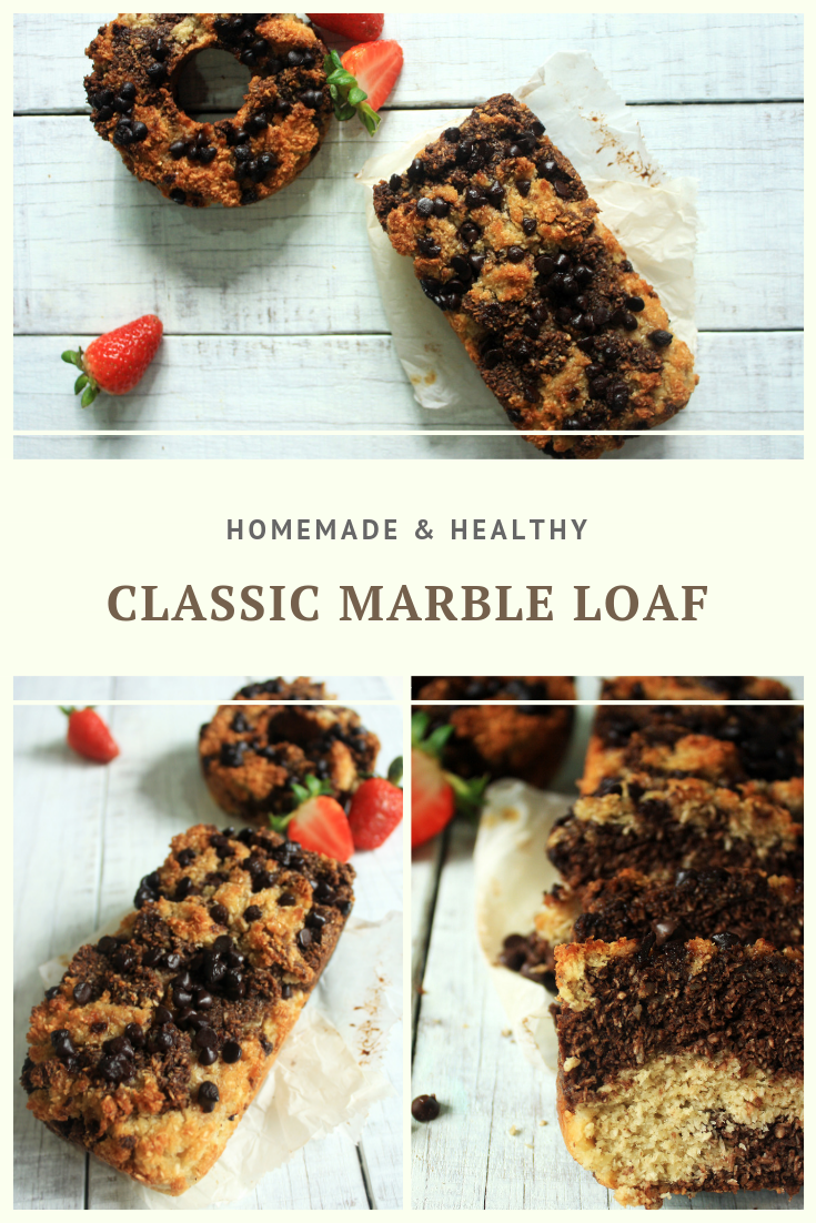 Paleo Classic Marble Loaf Recipe by Summer Day Naturals