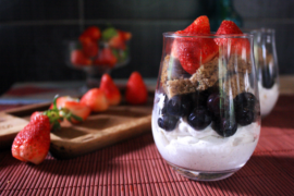 Berry Trifle with Vanilla Cake