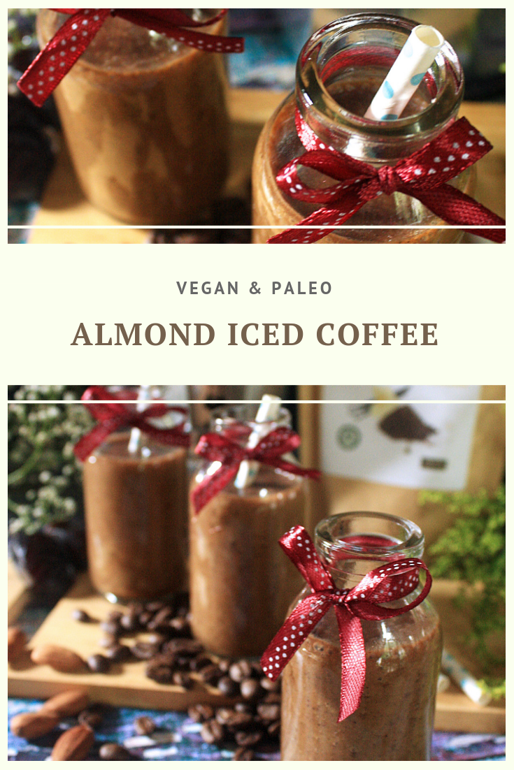 Paleo Almond Iced Coffee Recipe by Summer Day Naturals