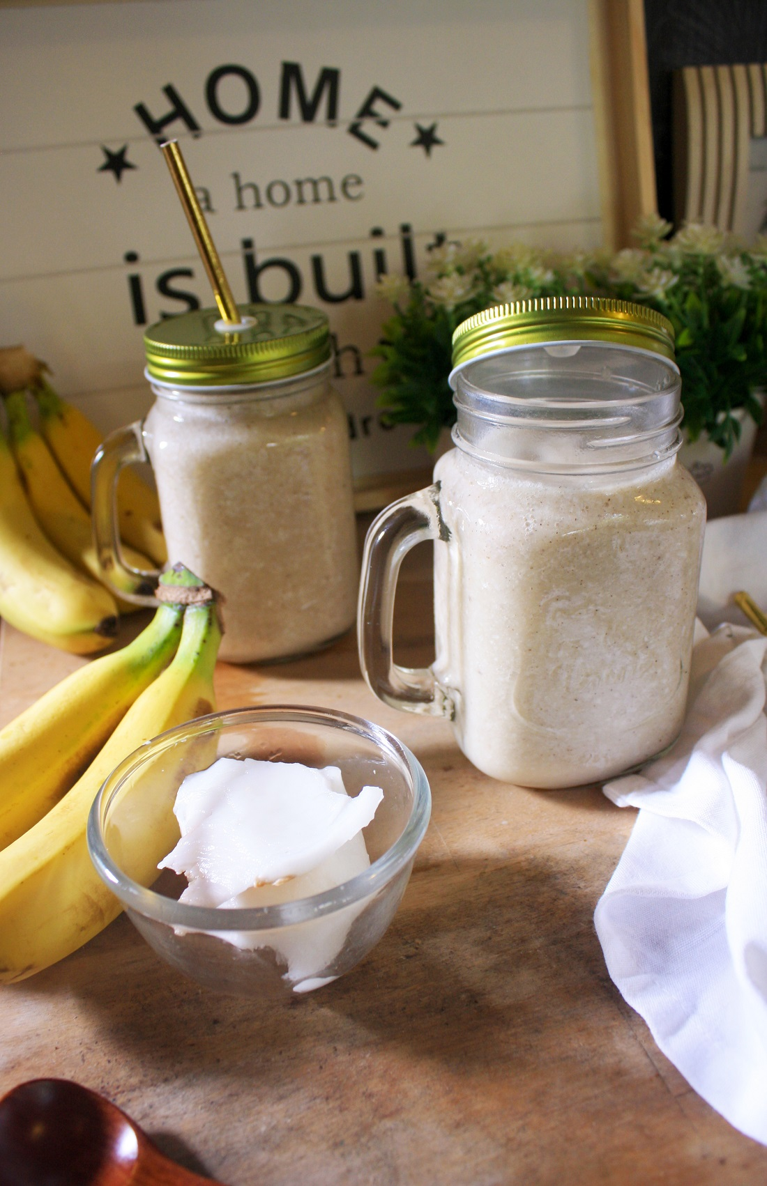 Vegan & Paleo Coconut Smoothie Recipe