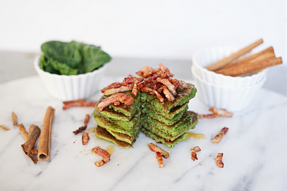 Paleo Spinach Pancakes