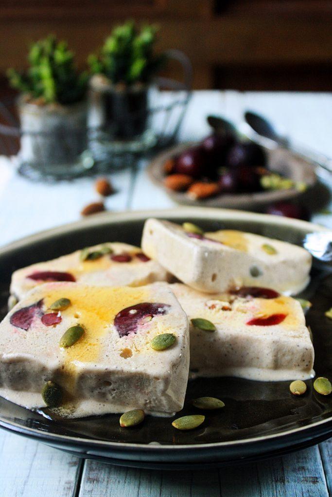Paleo Frozen Cherry Parfait Recipe