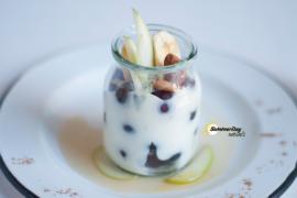 Coconut Cream With Fruit