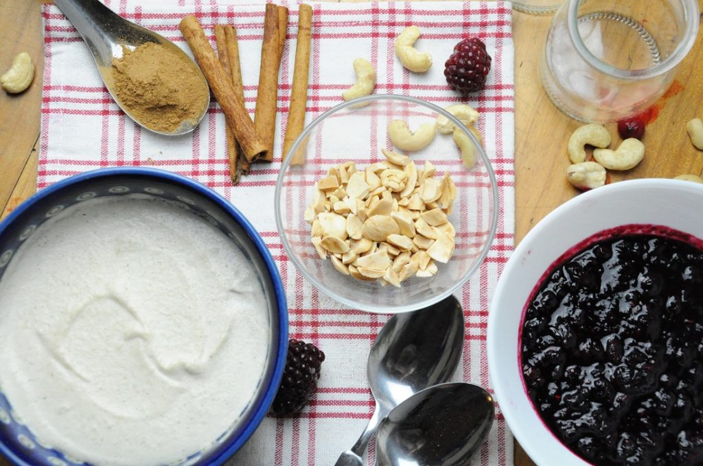 Berry Cheesecake Parfait Ingredients