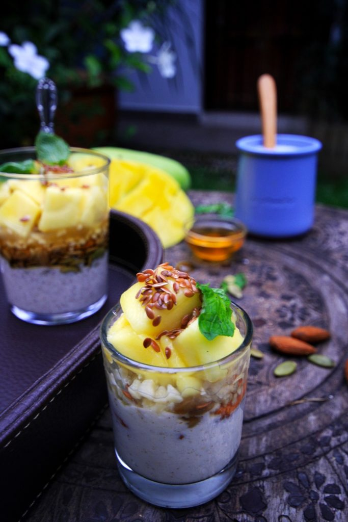 Healthy Mango Parfait Recipe