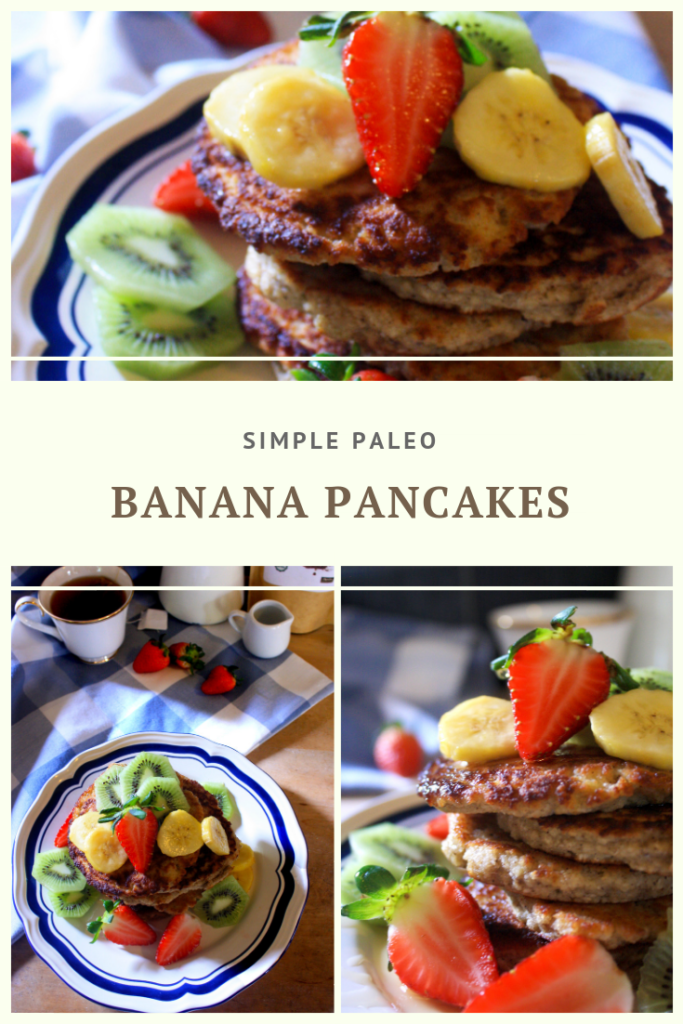 Paleo Banana Pancakes Recipe by Summer Day Naturals
