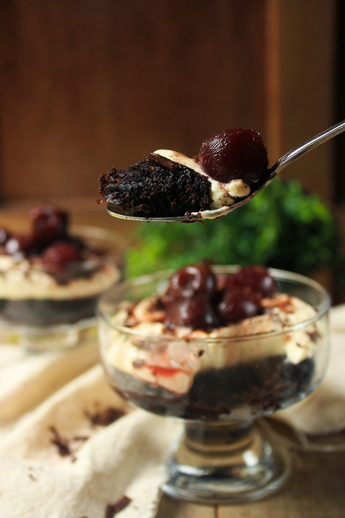 Paleo Black Forest Trifle