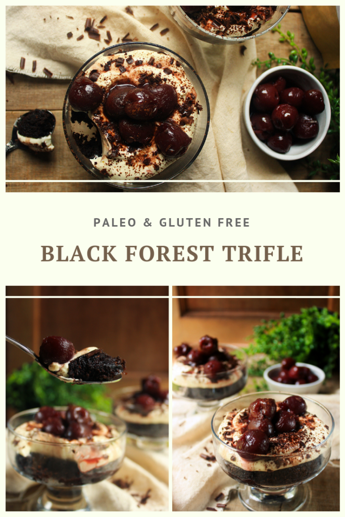 Paleo Black Forest Trifle Recipe by Summer Day Naturals
