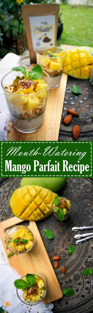 Paleo Mango Parfait Recipe by Summer Day Naturals