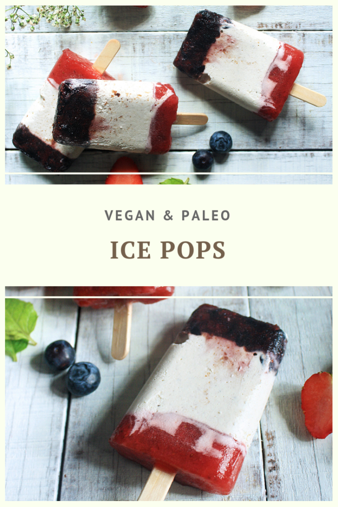 Paleo Vegan Ice Pops Recipe by Summer Day Naturals