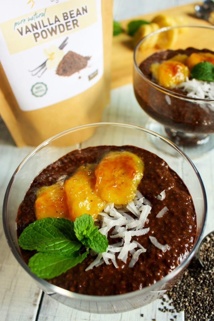 Healthy Banoffee Coconut Chia Pudding Recipe