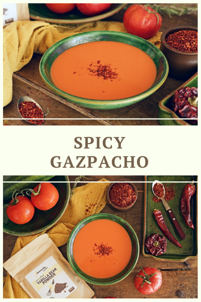 Healthy Gazpacho Soup Recipe by Summer Day Naturals