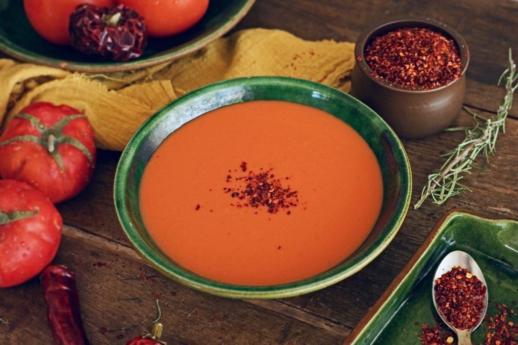 Spicy Gazpacho Soup Recipe