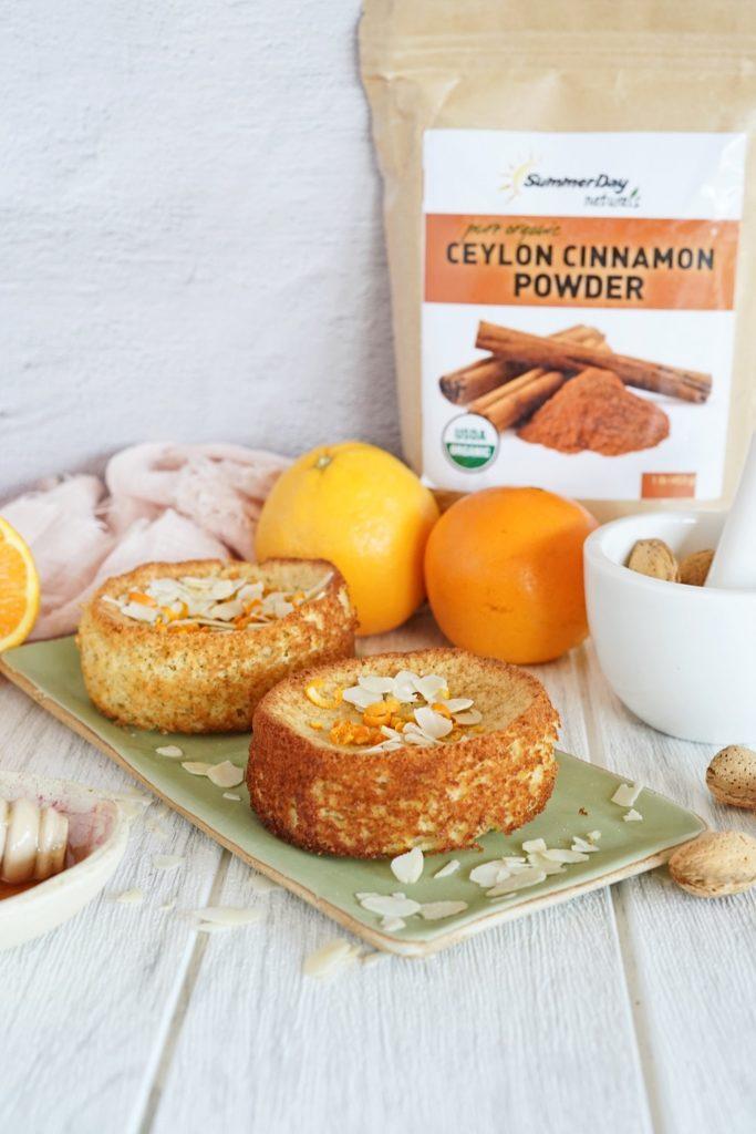 Orange Almond Cakes Recipe - Paleo, Gluten Free, Dairy Free