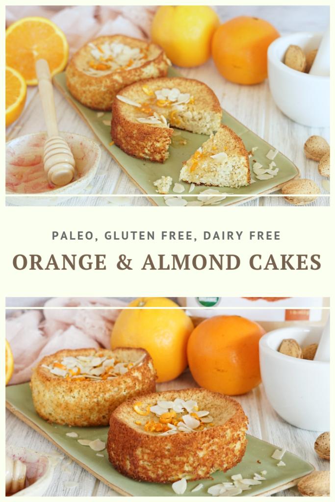 Paleo Orange & Almond Cake Recipe by Summer Day Naturals