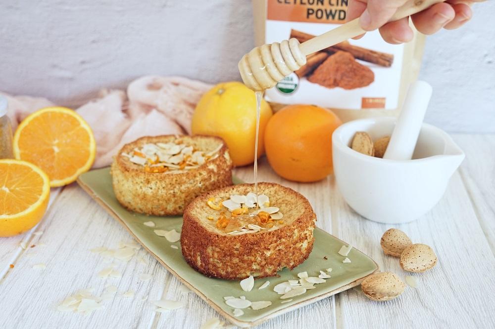 Paleo Orange Almond Cakes