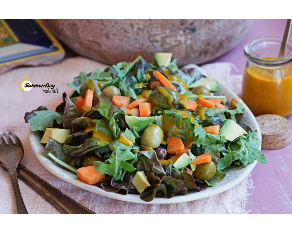 Cinnamon-Mango Salad Dressing
