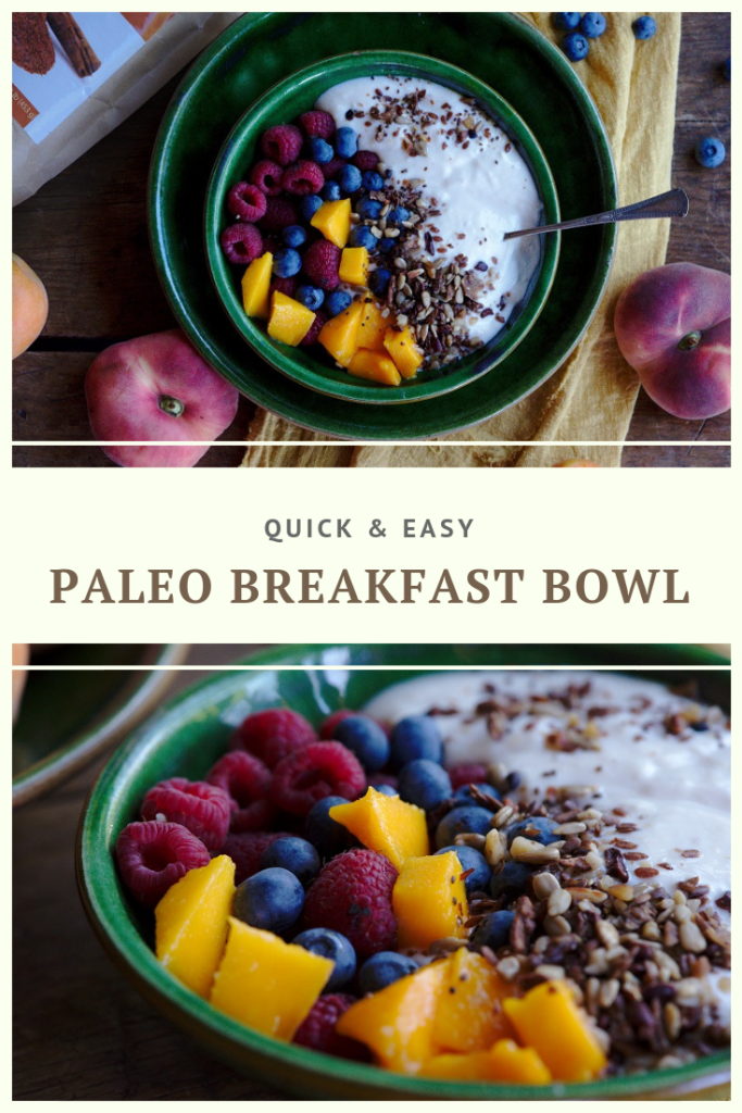 Paleo Breakfast Bowl Recipe by Summer Day Naturals