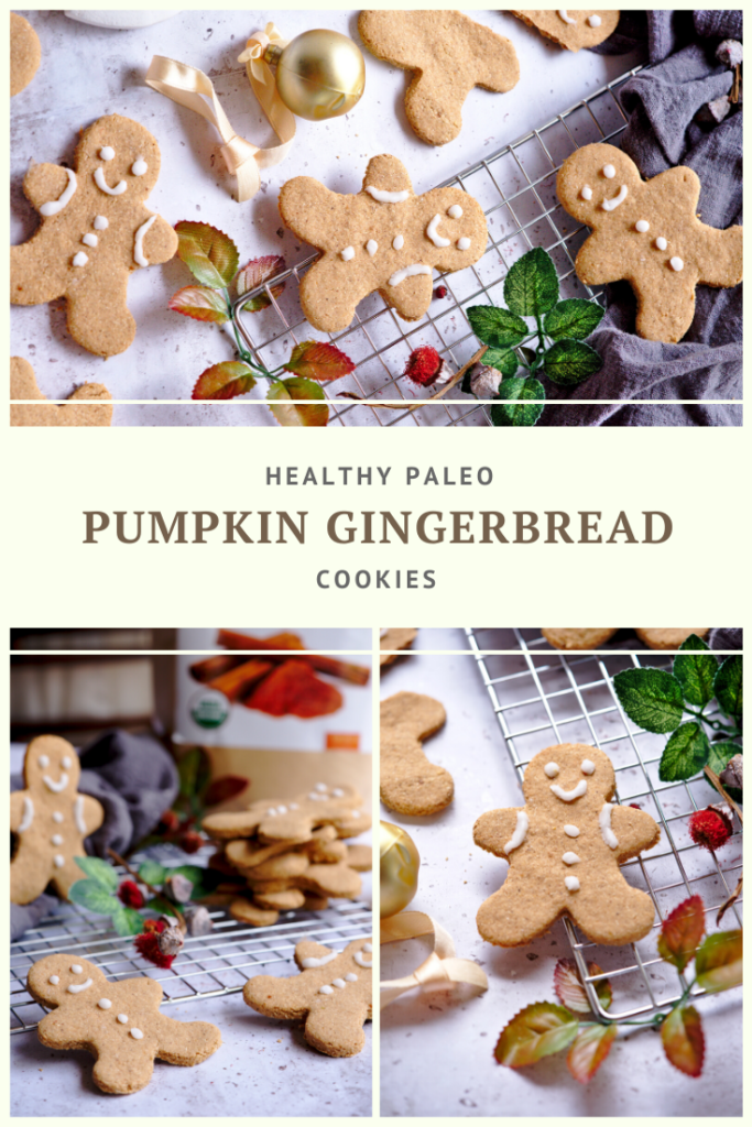 Healthy Paleo Pumpkin Gingerbread Cookie Recipe by Summer Day Naturals