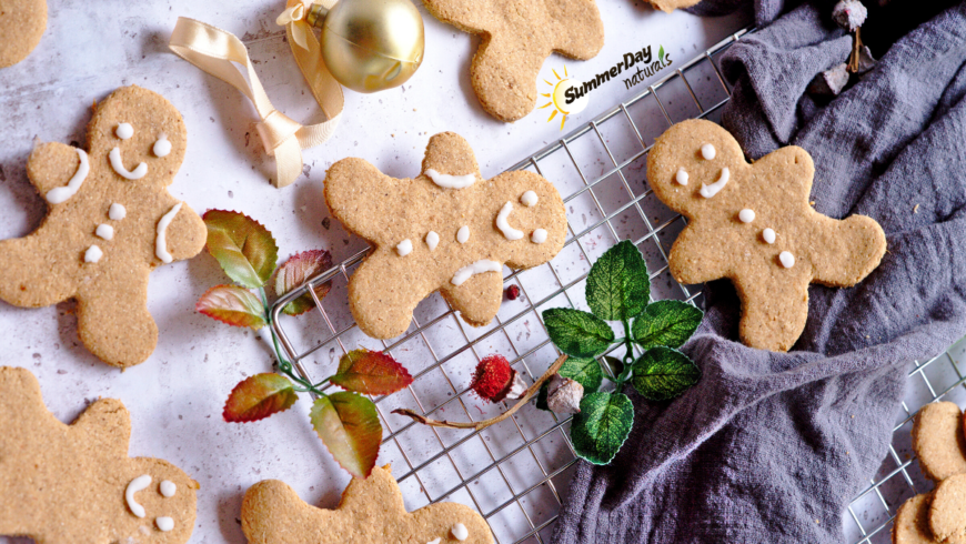Paleo Pumpkin Gingerbread Cookies