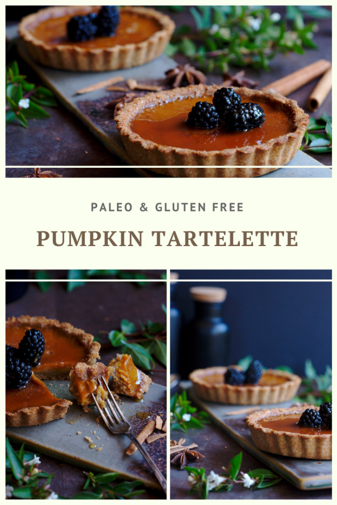 Paleo Pumpkin Tartelettes Recipe by Summer Day Naturals