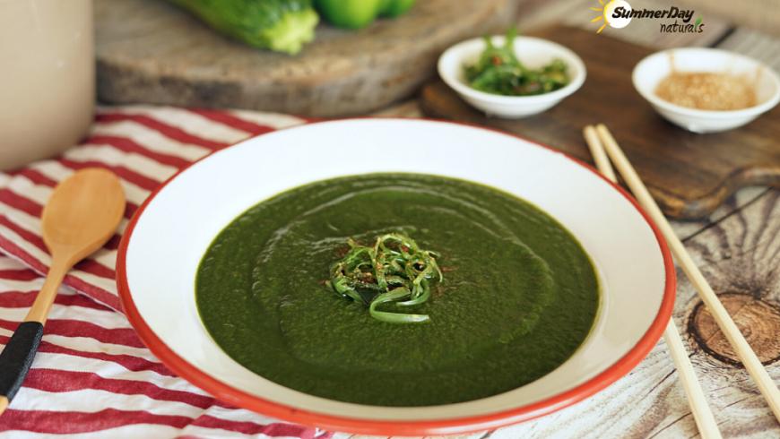 Paleo & Vegan Spinach Soup