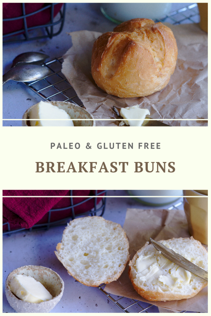 Paleo Bread Buns Recipe by Summer Day Naturals