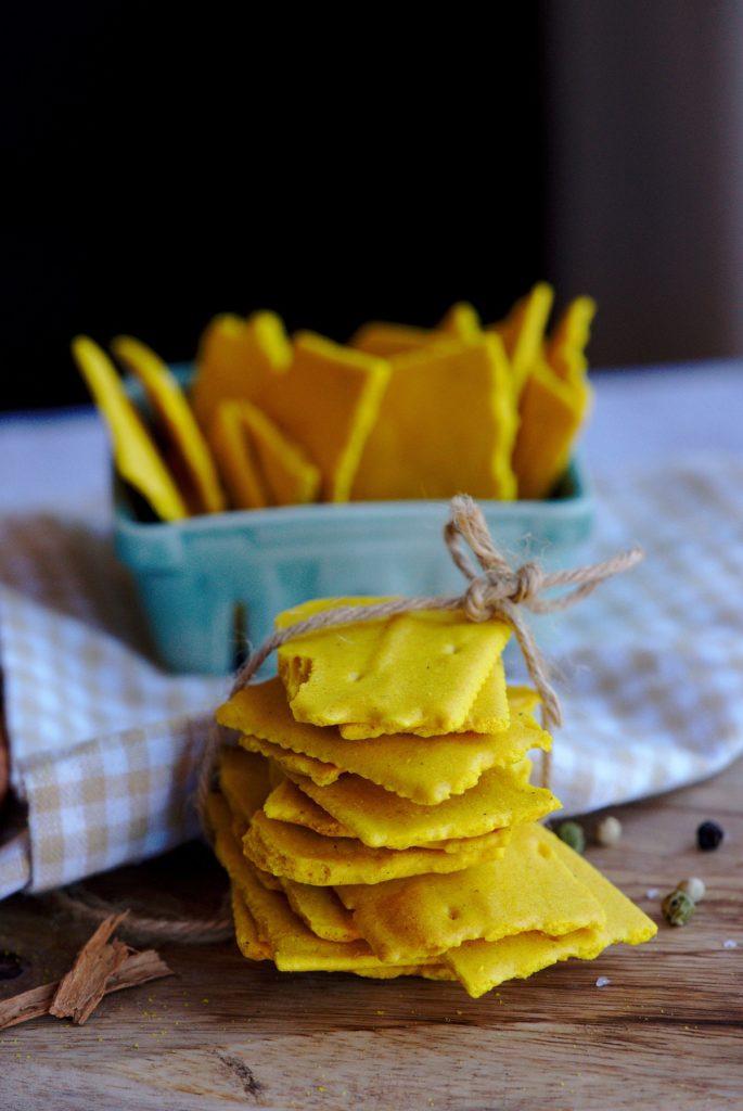 Healthy Turmeric Cracker Recipe