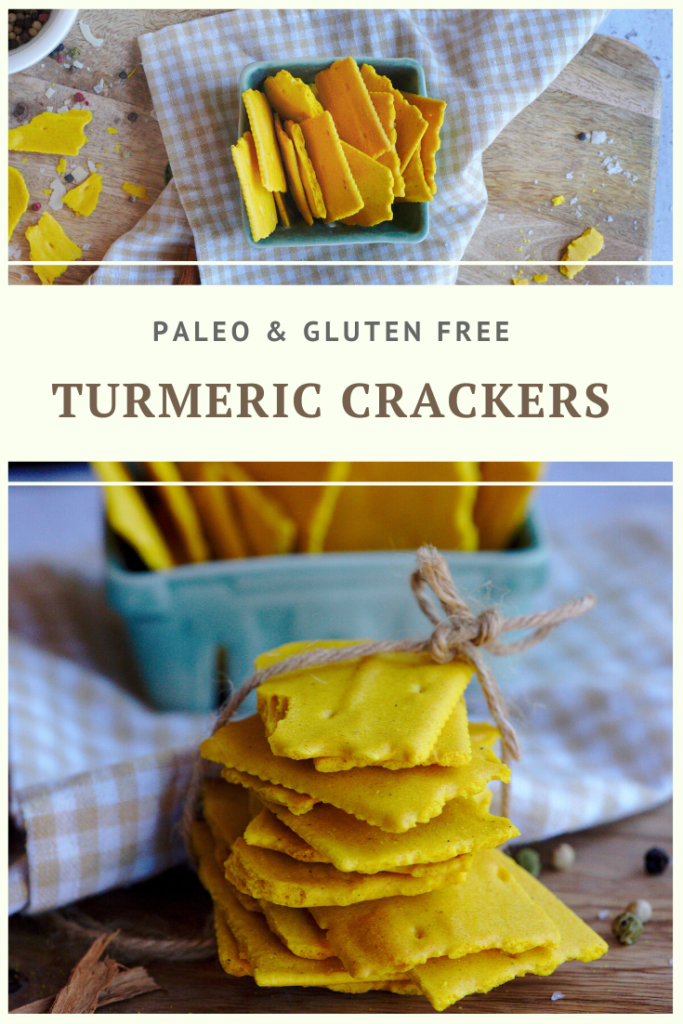 Paleo Vegan Turmeric Cracker Recipe by Summer Day Naturals