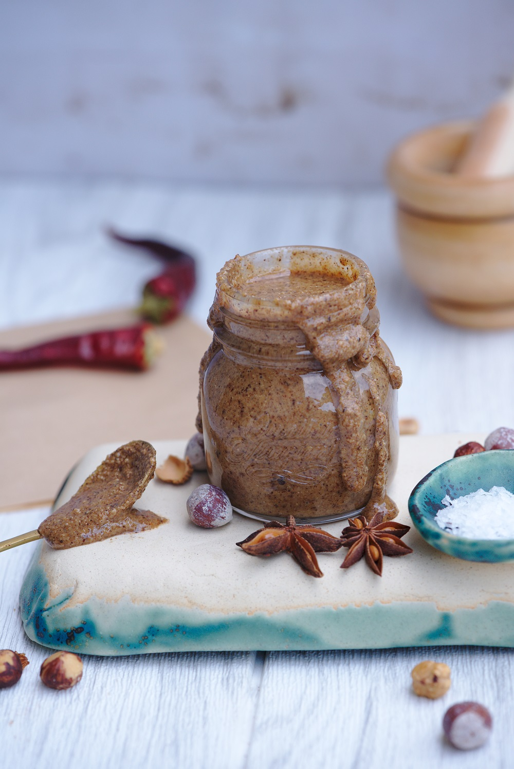 Paleo Vegan Gluten Free Vanilla Hazelnut Butter Recipe - Easy, quick and healthy